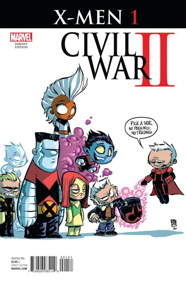 CIVIL WAR II X-MEN #1 YOUNG VAR