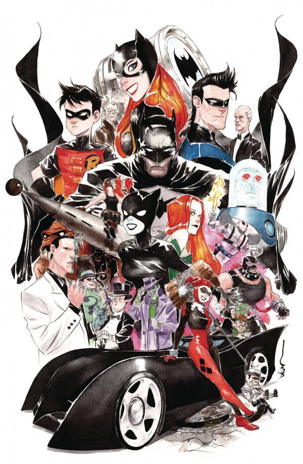 BATMAN THE ADVENTURES CONTINUE #2 (OF 6) DUSTIN NGUYEN VAR