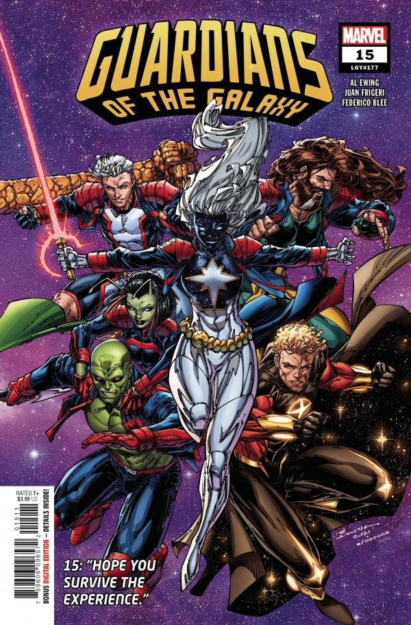 GUARDIANS OF THE GALAXY #15 (2020)