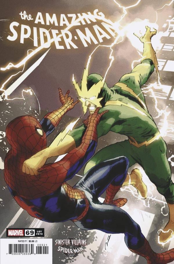 AMAZING SPIDER-MAN #69 SPIDER-MAN VILLAINS VAR