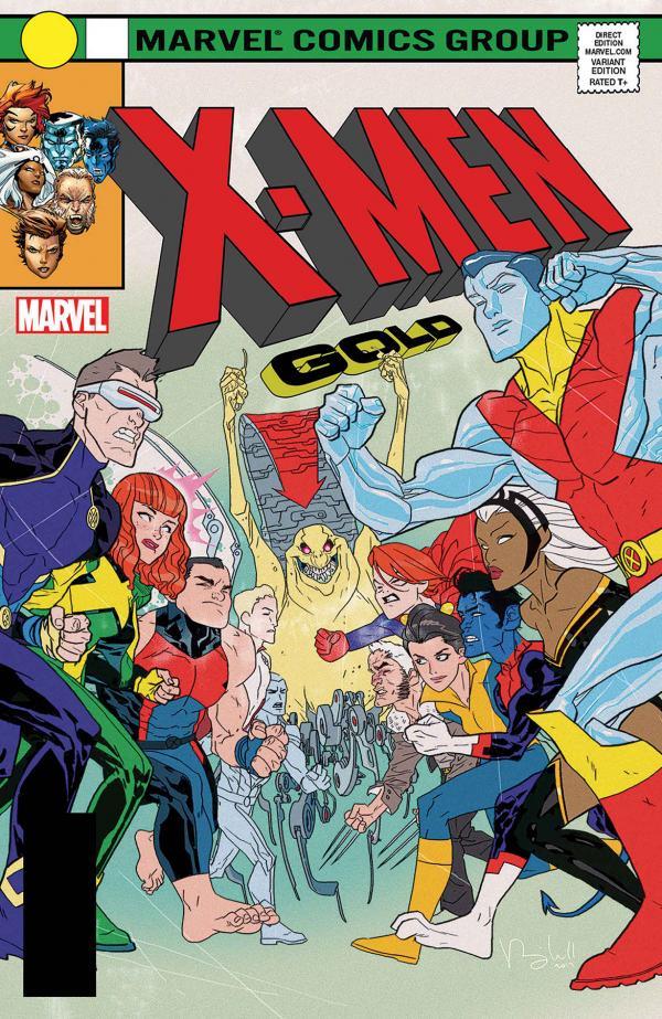 X-MEN GOLD #13 CALDWELL LH VAR LEG