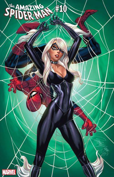 AMAZING SPIDER-MAN #10 JSC BLACK CAT VAR