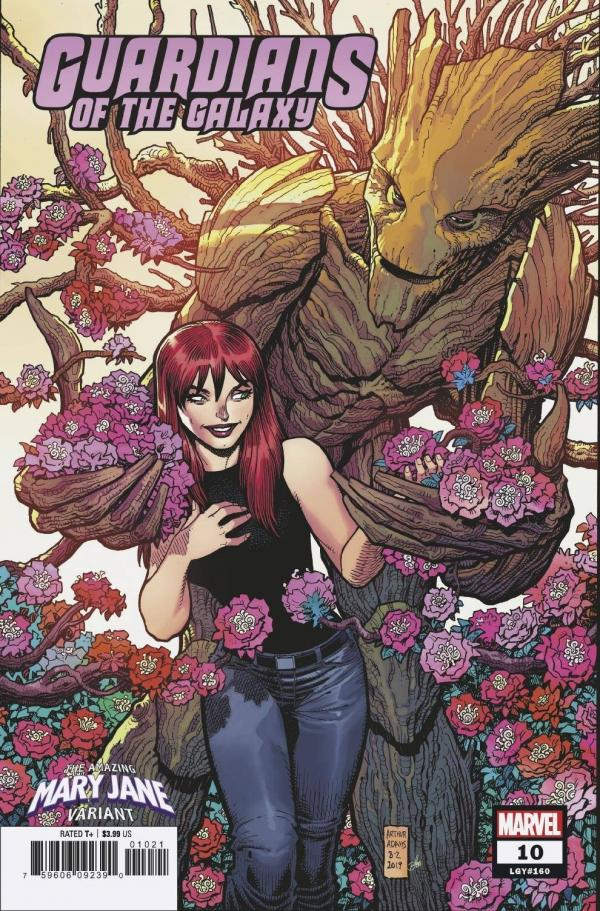 GUARDIANS OF THE GALAXY (2019) #10 ADAMS MARY JANE VAR