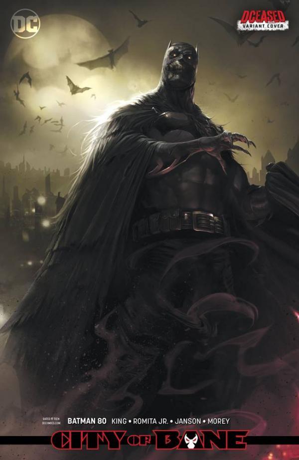 BATMAN #80 CARD STOCK VAR ED