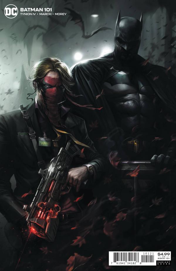 BATMAN #101 CARD STOCK F MATTINA VAR ED JOKER WAR