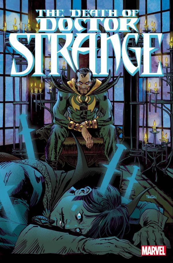 DEATH OF DOCTOR STRANGE #2 (OF 5) PANOSIAN VAR