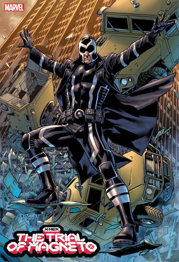 X-MEN TRIAL OF MAGNETO #3 (OF 5) HITCH VAR