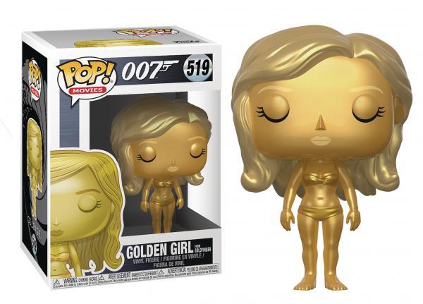 Golden Girl From Goldfinger 519