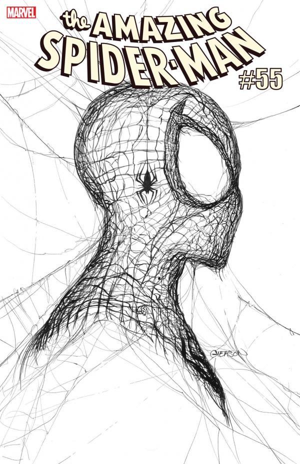 AMAZING SPIDER-MAN #55 2ND PTG GLEASON RATIO VAR 1:50