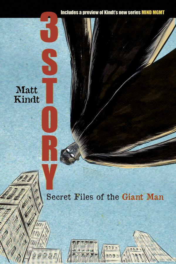3 STORY SECRET FILES O/T GIANT MAN ONE SHOT