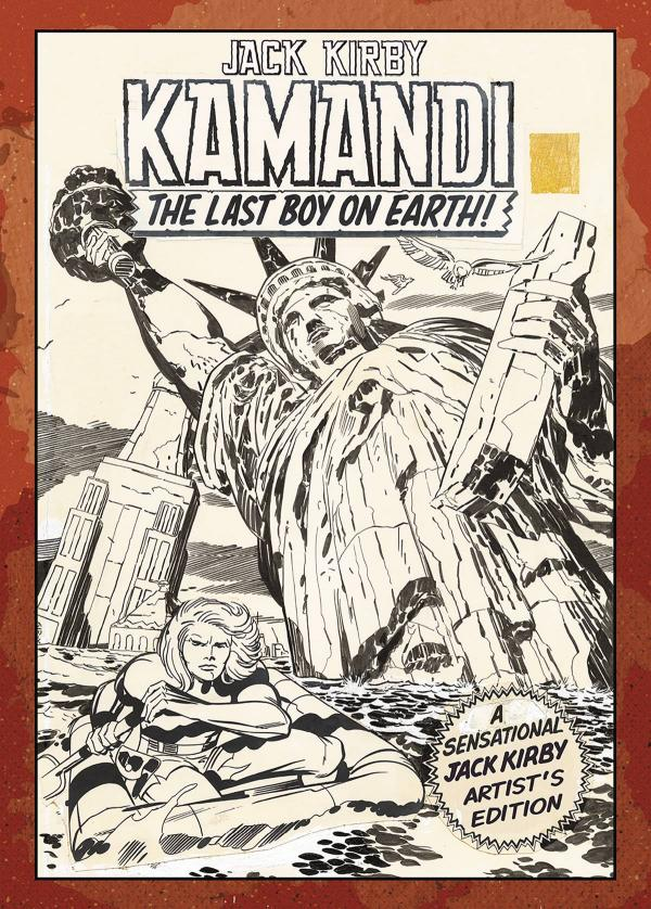 JACK KIRBY KAMANDI ARTIST ED HC #1