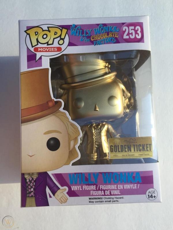 Willy Wonka Golden 253