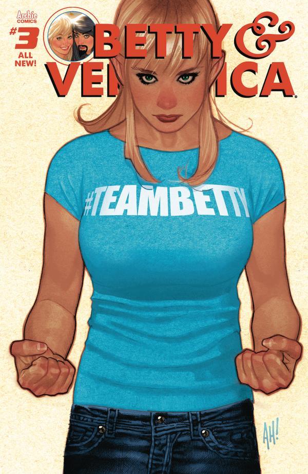 BETTY & VERONICA #3 CVR A REG ADAM HUGHES BETTY