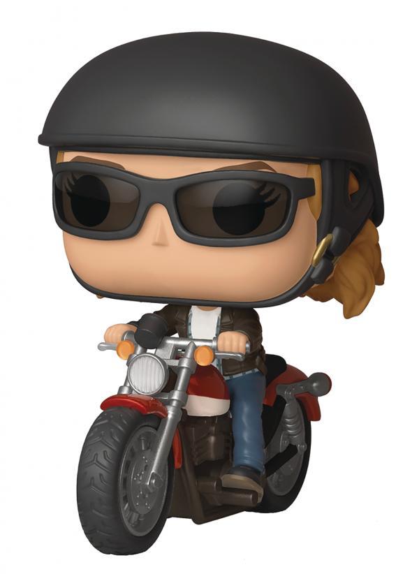 Carol Danvers On Motorcycle 57