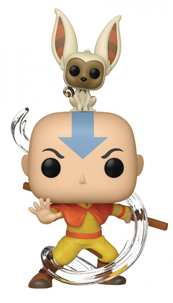 Aang With Momo 534