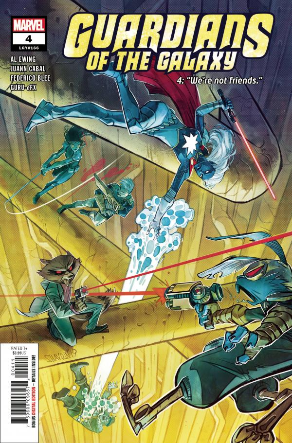 GUARDIANS OF THE GALAXY #4 (2020)