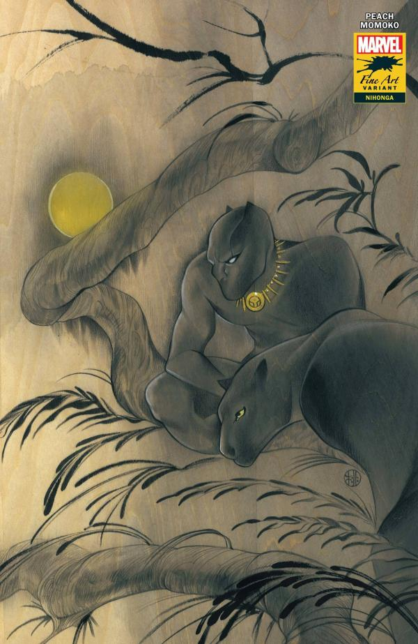 BLACK PANTHER #25 MOMOKO STORMBREAKERS VAR