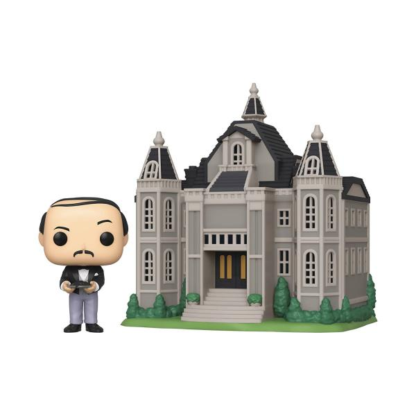 Alfred Pennyworth With Wayne Manor 13