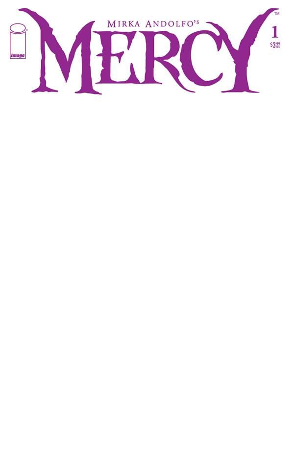 MIRKA ANDOLFO MERCY #1 CVR F BLANK SKETCH CVR
