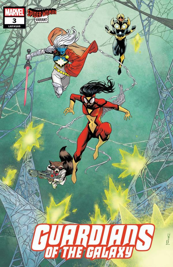 GUARDIANS OF THE GALAXY #3 (2020) SHALVEY SPIDER-WOMAN VAR