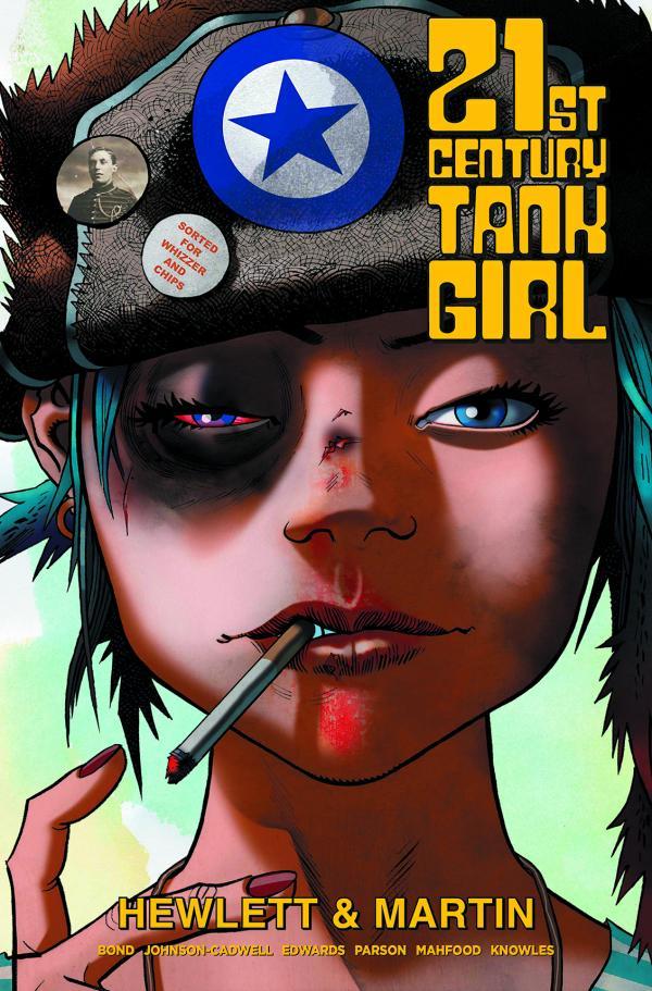 21ST CENTURY TANK GIRL HC
