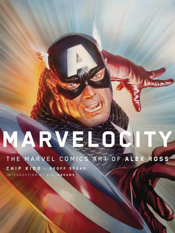 MARVELOCITY MARVEL COMIC ART ALEX ROSS HC