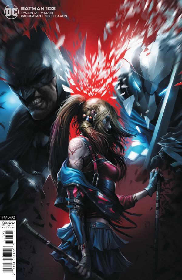 BATMAN #103 MATTINA VAR