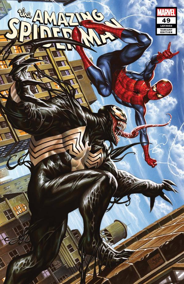AMAZING SPIDER-MAN #49 BROOKS VAR