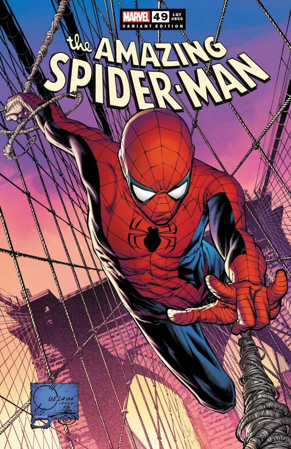 AMAZING SPIDER-MAN #49 QUESADA VAR 1:50