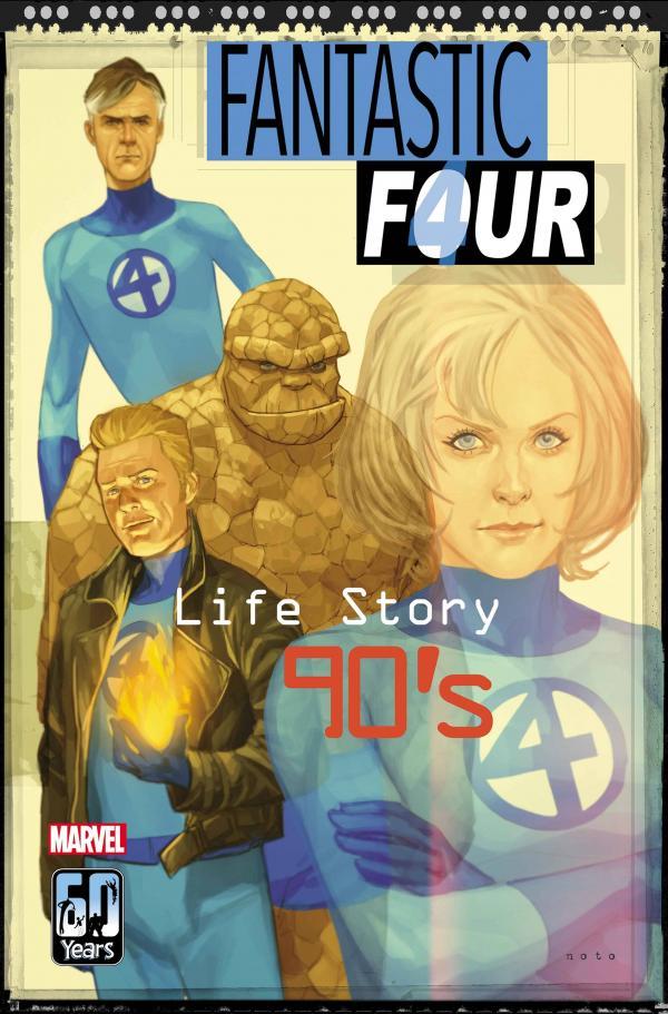 FANTASTIC FOUR LIFE STORY #4 (OF 6) NOTO VAR