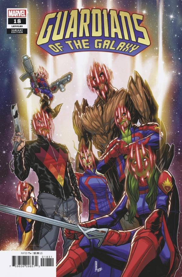 GUARDIANS OF THE GALAXY #18 (2020) BALDEON VAR ANHL