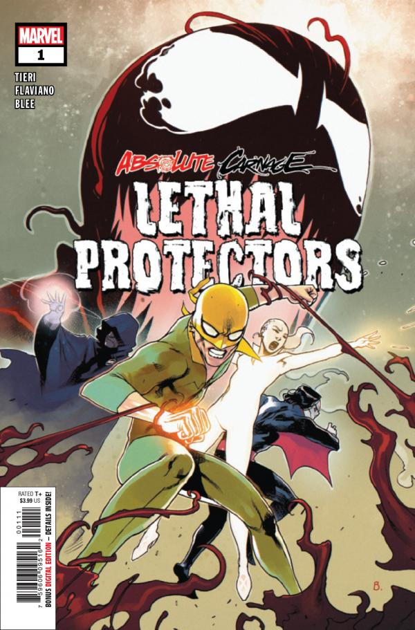 ABSOLUTE CARNAGE LETHAL PROTECTORS #1 AC