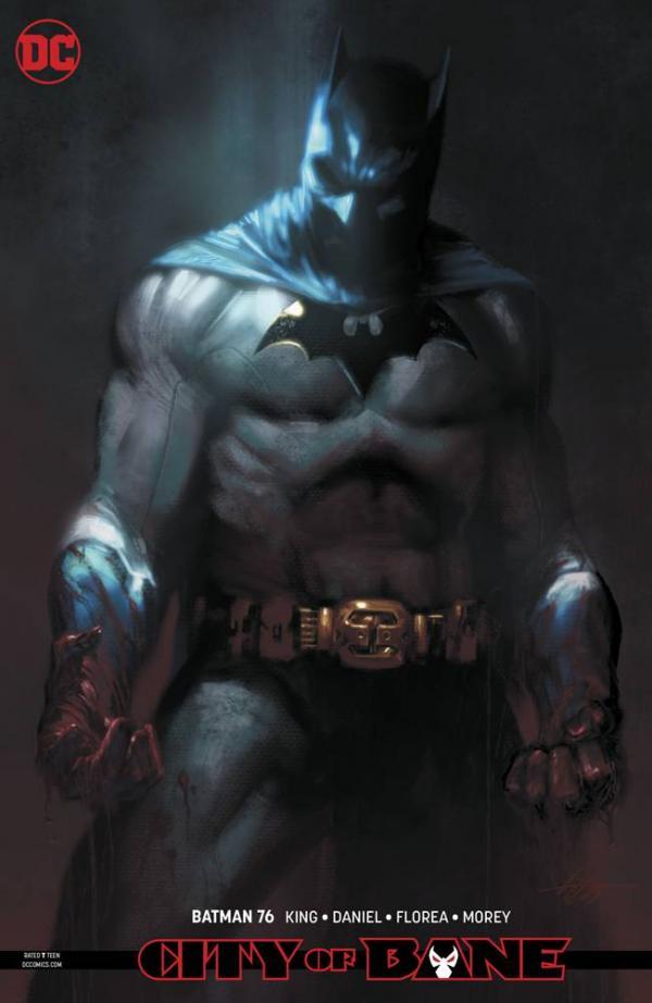 BATMAN #76 CARD STOCK VAR ED YOTV DARK GIFTS