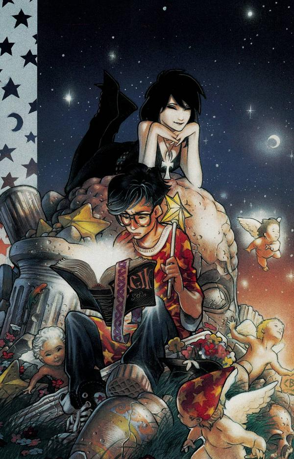 SANDMAN THE BOOK OF MAGIC OMNIBUS HC VOL 01