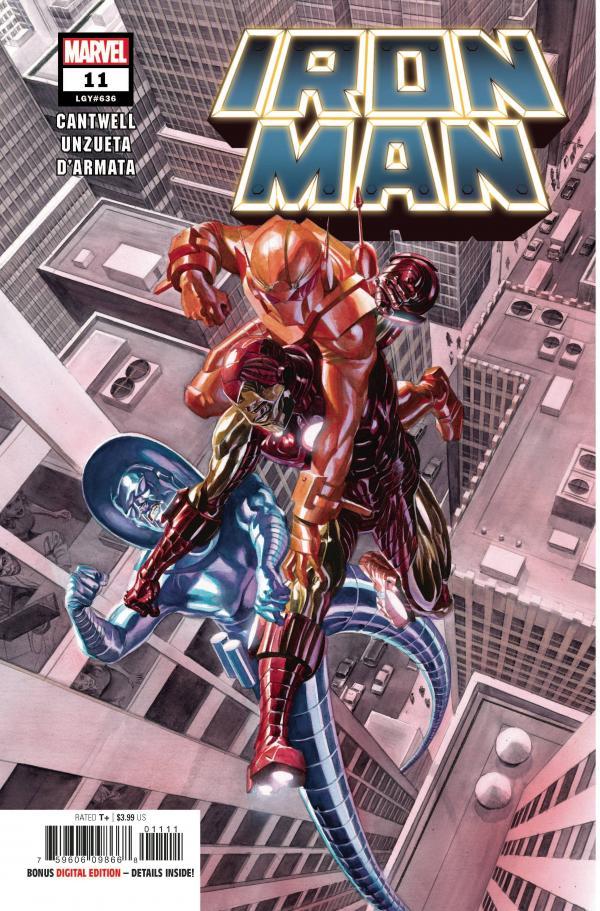 IRON MAN #11 (2020)