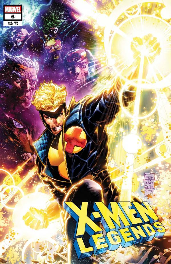 X-MEN LEGENDS #6 TAN VAR