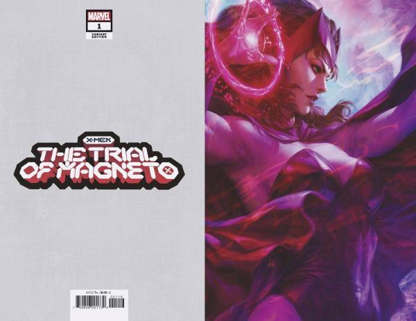 X-MEN TRIAL OF MAGNETO #1 (OF 5) ARTGERM VIRGIN VAR