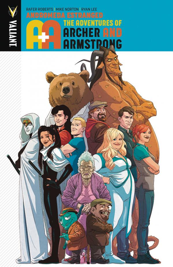 A&A ADV OF ARCHER & ARMSTRONG TP #3