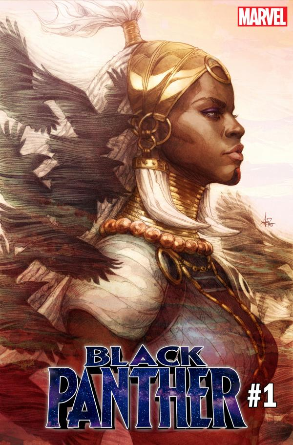 BLACK PANTHER #1 ARTGERM VAR