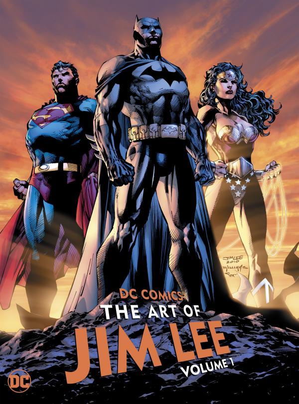 DC COMICS THE ART OF JIM LEE HC #1