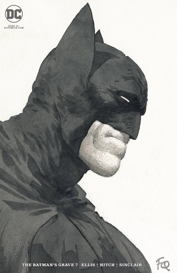 BATMANS GRAVE #7 (OF 12) CARD STOCK F QUITELY VAR ED