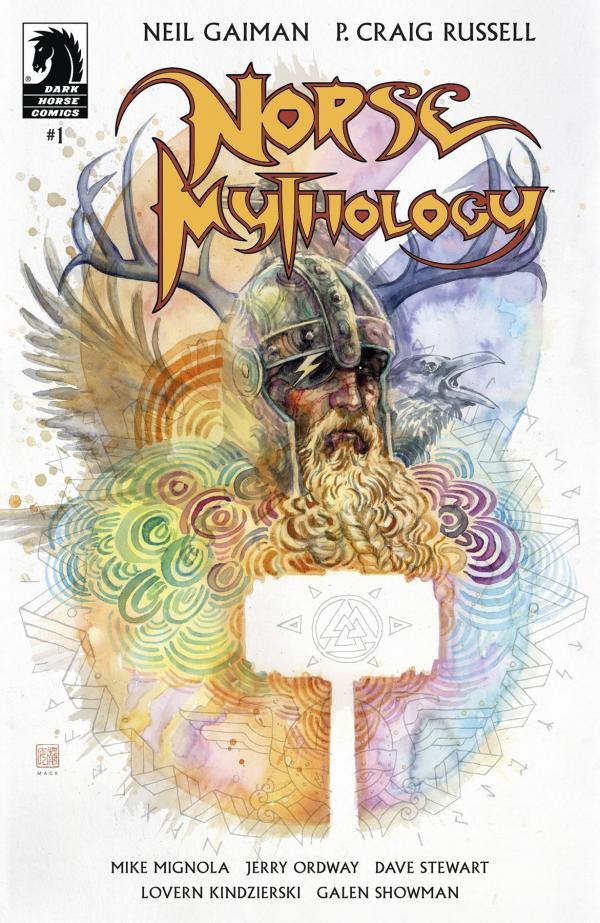 NEIL GAIMAN NORSE MYTHOLOGY #1 CVR B MACK