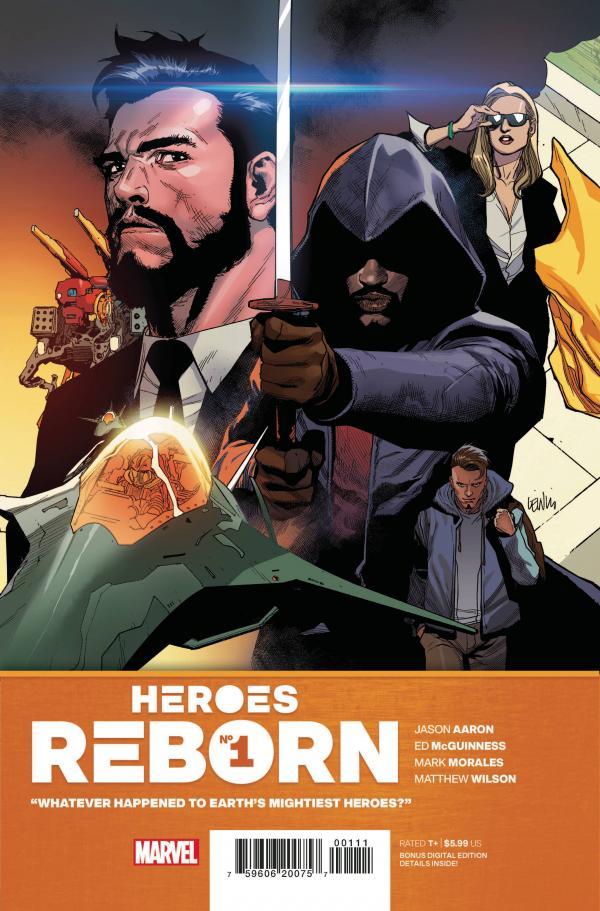 HEROES REBORN #1 (OF 7)