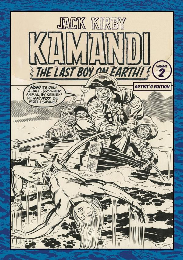 JACK KIRBY KAMANDI ARTIST ED HC #2