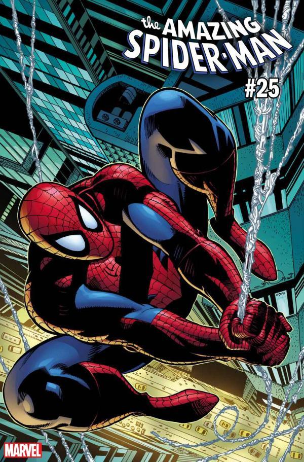 AMAZING SPIDER-MAN #25 SIMONSON VAR
