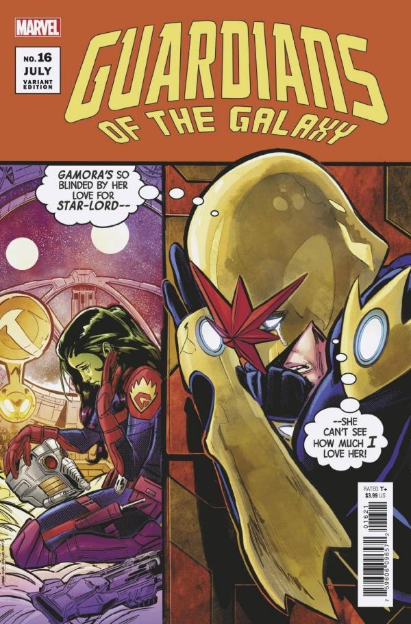 GUARDIANS OF THE GALAXY #16 (2020) ARTIST VAR ANHL