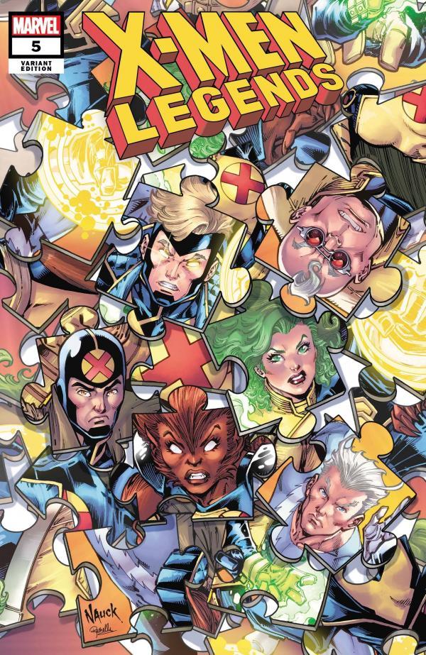 X-MEN LEGENDS #5 NAUCK PUZZLE VAR
