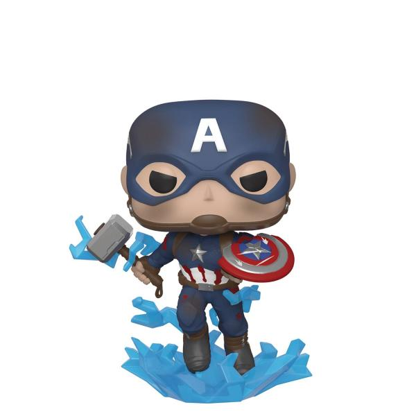 Captain America with Broken Shield and Hammer 573