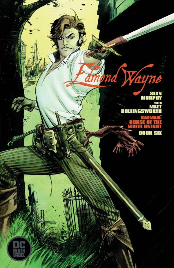 BATMAN CURSE OF THE WHITE KNIGHT #6  VAR ED