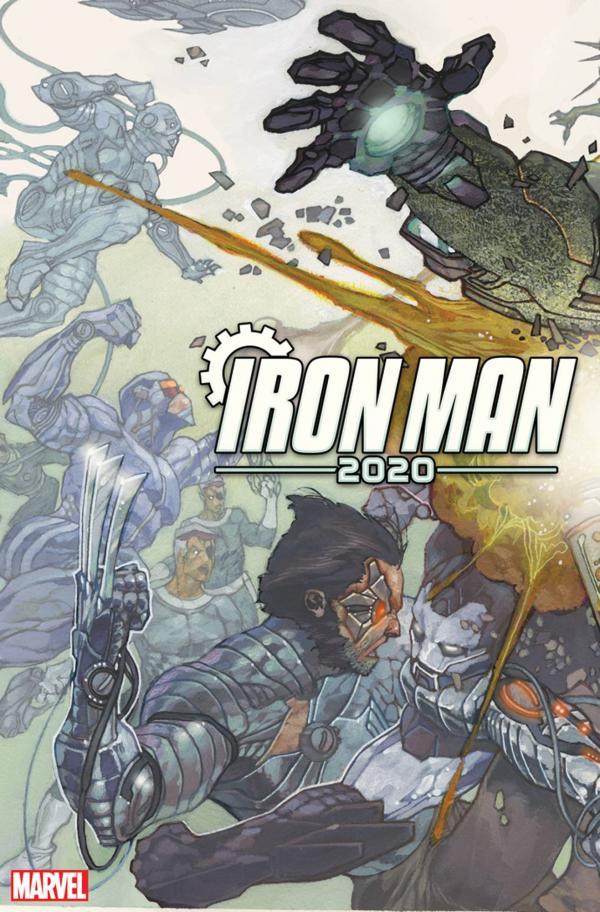 IRON MAN 2020 #1 BIANCHI CONNECTING VAR